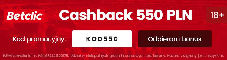 betclic polska bonus cashback